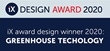Announcement - The winner of iX design award 2020